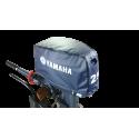 Capa protetora para capô de motor popa na cor azul - 15HP e 25HP
