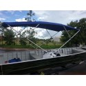 Capota / Toldo Para Barcos de Alumínio (4 arcos) - 3,5m de comprimento